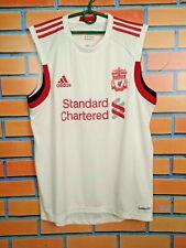 Liverpool Jersey Training M Formotion Sleeveless White Mens Shirt Adidas