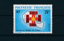 """French Polynesia #272 (1971) """"2nd RALLY OF BOY SCOUTS""""; MNH"""