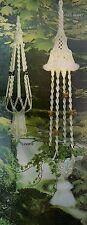 Loopie Plant Hanger & Free Spirit Lamp #AW1 Macrame Award Winning Designs