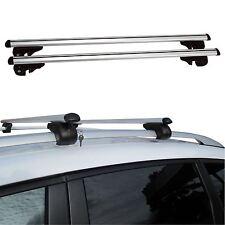 120cm Universal Aluminium Car Roof Bars Rack Locking Aero Cross Rails