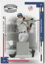 2004 Throwback Threads Derek Jeter Game-Worn Jersey /100