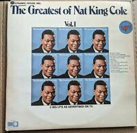 The Greatest of Nat King Cole Volume one and two 1972 Capitol Records