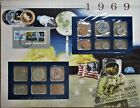 1969 United States Uncirculated Mint Set Panel - Postal Commemorative Society