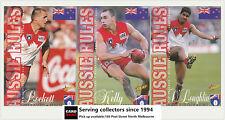 1998 Select AFL Ansett Cup Game Day Card Set Sydney Team Set (3)-Rare!