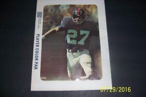 1973 NEW YORK Giants PHOTO PACK 8 Sealed GRIM Johnson GOGOLAK Mendenhall ATHAS
