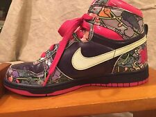 NIKE BLAZER High Top Shoes 2009 Floral  Women US Size 8