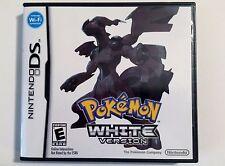 Pokemon White Version Nintendo DS Lite DSi XL 3DS 2DS w/Case & Manual