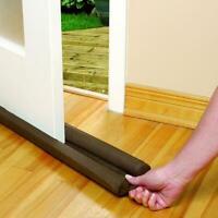4Pcs Twin Door Draft Dodger Guard Stopper Energy Saving Protector Doorstop Home