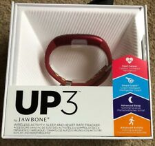 Job Lot of 4 UP3 Jawbone Sleep and Activity Tracker Bluetooth Wristband Fitness