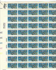 Scott #1684... 13 Cent... Commercial Aviation... Sheet of 50