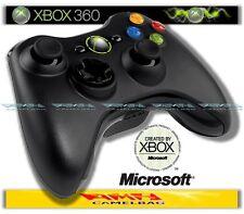 Original Microsoft Wireless Gamepad Controller Pad Schwarz Xbox 360 Neu