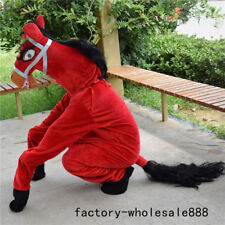 2020 Horse Mascot Costume Event Animal Cheerleading Party Cos Game Fancy Dress #
