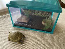 "American Girl aquarium fish tank turtle pet habitat Lights up New fo 18"" dolls"