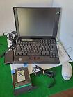 Vintage Ibm Thinkpad 760xl Intel Pentium Mmx Windows 98 80 Mb Ram - Works!!!