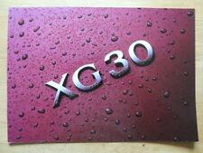 HYUNDAI XG30 Luxury Saloon 2000 UK Mkt glossy sales brochure