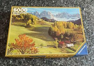 Ravensburger 5000 Piece Jigsaw Puzzle Dolomiten Landscape 60 x 40 Inches # 74027