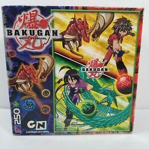Bakugan Battle Brawlers Puzzle Factory Sealed 250 Pieces 2008 - RARE SEALED NEW