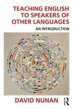 Teaching English to Speakers of Other Languages : An Introduction by David...