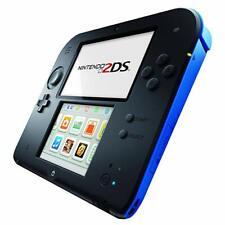 Console NINTENDO 2DS bleu et noir + 2 jeux offerts avec stylet et chargeur