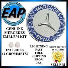 For Mercedes Benz ML Class S Class SL Class W209 GENUINE Hood Star Emblem Badge