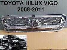 TOYOTA HILUX VIGO SR5 MK6 Front Grille Grill PARTS STYLE Chrome 2008-2011 New