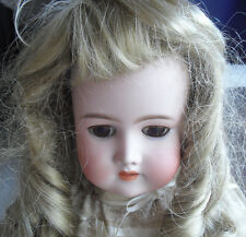 """Antique Cm Bergmann Halbig Germany Bisque Composition Girl Doll 24"""" Tall"""