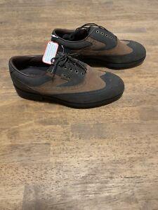 Men's Golf Shoes style 53602 Foot-Joy DryJoys size 8.5 M