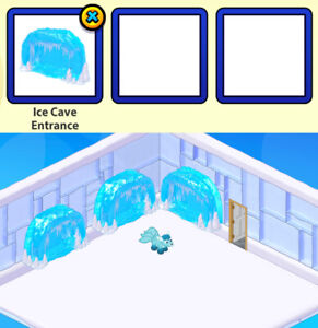 2021 Webkinz March DELUXE DAY Membership Prize: Ice Cave Entrance