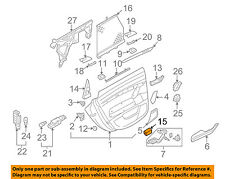 AUDI OEM 05-06 A6 Quattro Interior-Rear Door-Ashtray Right 4B0857406B8C1