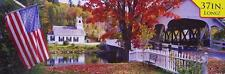 Jigsaw puzzle Landscape Covered Bridge 750 piece NEW