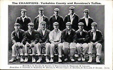 Cricket. Yorkshire County & Rowntree's Toffee. The Champions.