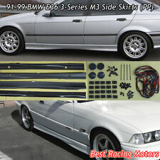 M Style Side Skirts (PP) Fits 91-99 BMW E36 2/4dr 3-Series
