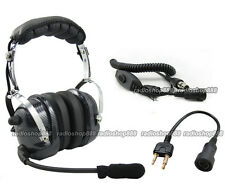 RACING HEADSET HEADPHONE FOR ICOM IC-T7H IC-U1  4-081 + 44-S