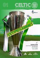 Celtic V Hamilton  Scottish Premier League Programme 2020/21 Restart Programme