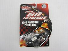 1:64 1968 Plymouth Police Cop Car Gone in 60 Seconds Racing Champions Diecast