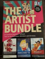 Smith Micro Software The Artist Bundle 3 Pack Super Value for Windows & Mac NEW!