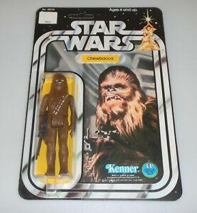 *RECARDED* 1978 Star Wars Chewbacca Figure Complete Sealed *CUSTOM Card Back*