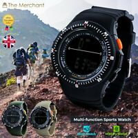 Mens Chronograph Sports Military Diver Wrist Watch digital Multi function SKMEI
