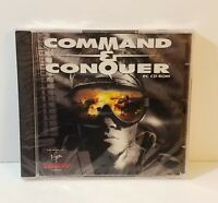 Command & Conquer PC CD-Rom ms-dos windows 3.x real-time strategy game new