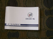 1997 Buick Le Sabre  Owner's Manual
