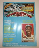 Vintage Magazine The Baseball Hobby Card Report Premiere 1st Issue STAR TREK mlb