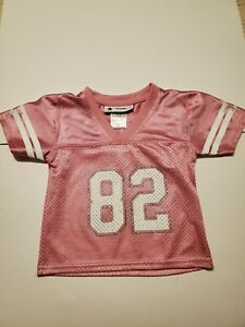 Dallas Cowboys Authentic  Witten #82 Pink Jersey size 2T.  Pre-owned