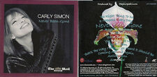 Carly Simon Never Been Gone CD from The Mail on Sunday in card slip sleeve UK CD