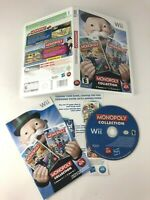 Monopoly Collection for Nintendo Wii Complete 2 Games in 1 Rare