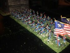 52 Painted 1/72- US Civil War Union 146th Pennsylvania Zouaves w Period Hotel !