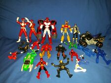 Power Rangers Action Figures Lot no weapons pretty much parts lot Bandai