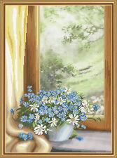 "Cross Stitch Kit NOVA SLOBODA CP3215 - ""Floral fantasy"""