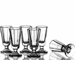 Shot Glass for vodka Set of 6 X 40 ml / 1.35 oz.Russian Belarus Cut Crystal HQ