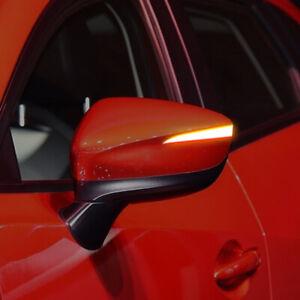 For Mazda CX-3 LED Dynamic Turn Signal Light Rear Mirror Indicator 2017-2019