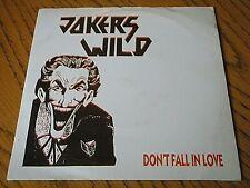 "JOKERS WILD - DON'T FALL IN LOVE  7"" VINYL PS"